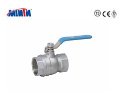 2-PC Thread Ball Valve